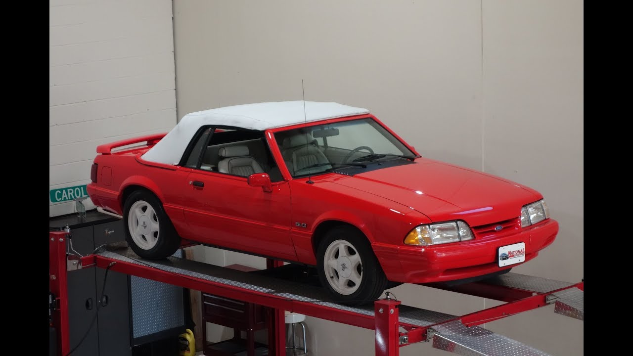 "Video: 1992 Ford Mustang ""Summer Special"" LX 5.0L Convertibles Test Drive"