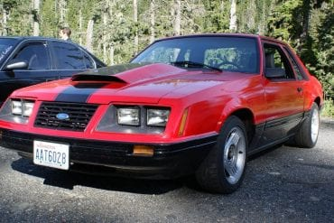 Video: Racing In A 1984 Ford Mustang POV