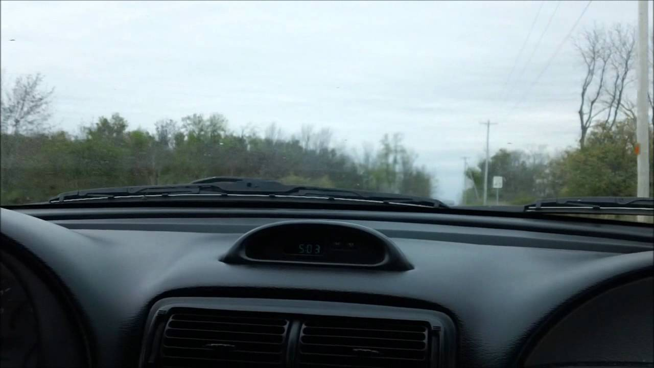 Video: 1995 Ford Mustang GTS POV Test Drive