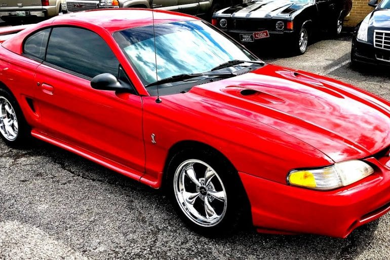 Video: 1997 Ford Mustang Cobra Test Drive