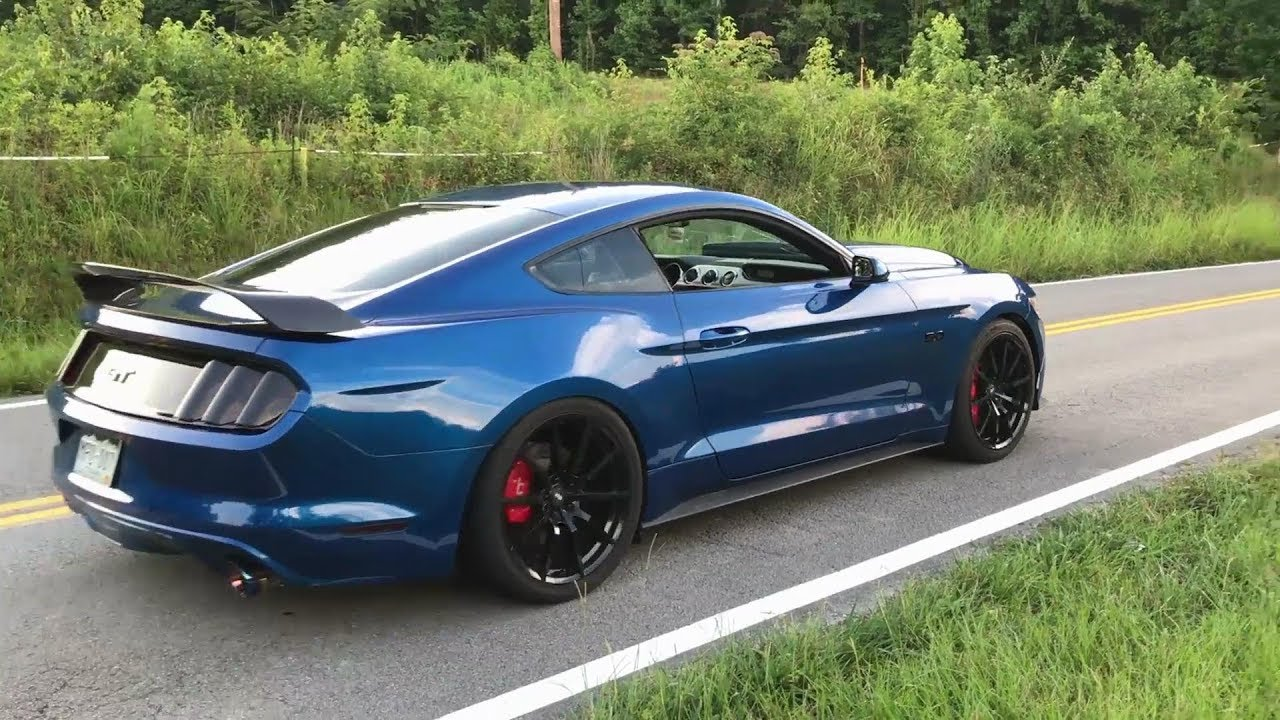 Video: 2017 Ford Mustang GT With ARMYTRIX Cat-Back Exhaust Pure Sounds!