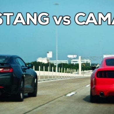 Video: 2017 Ford Mustang GT vs 2017 Chevy Camaro SS - 1/4 Mile, Acceleration, Exhaust & More!