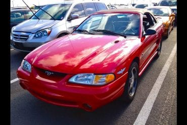 Video: 1994 Ford Mustang SVT Cobra Convertible 5.0L In-Depth Tour