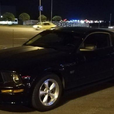 Video: Driving At Night In A 2008 Ford Mustang GT