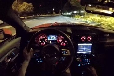 Video: 2015 Ford Mustang Ecoboost - WR TV POV Night Drive