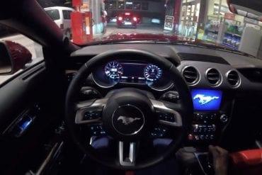 Video: 2018 Ford Mustang GT V8 - Night POV Drive