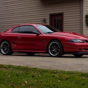 Video: Sleek 1997 Ford Mustang With New Hood & Paint Walkaround