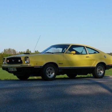 Video: 1975 Ford Mustang II Mach 1 Quick Walkaround