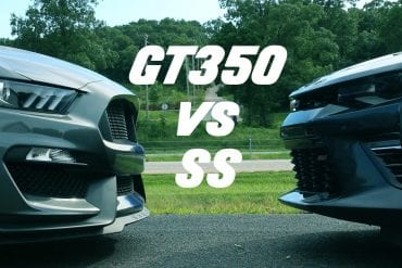 Video: 2016 Ford Mustang Shelby GT350 vs 2016 Camaro SS