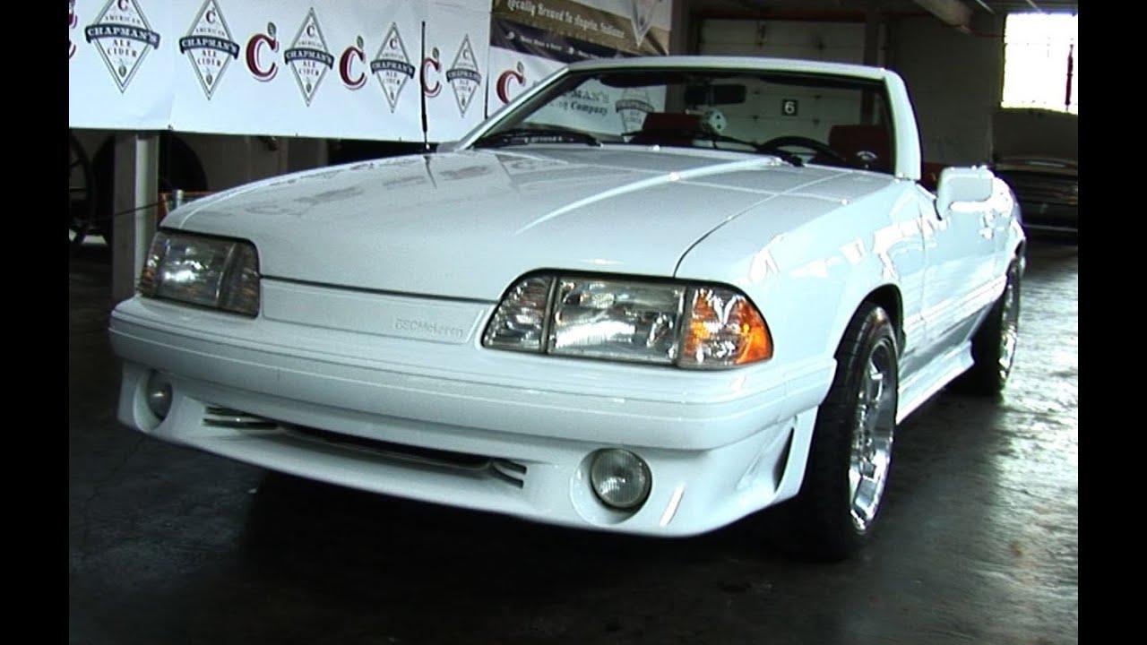 Video: 1988 ASC Mclaren Mustang Walkthrough