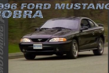 Video: Throwback To The 1996 Ford Mustang Cobra