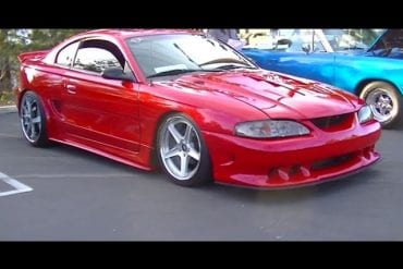 Video: Supercharged Widebody 1996 Ford Mustang GT Walkaround