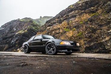 Black Foxbody Mustang