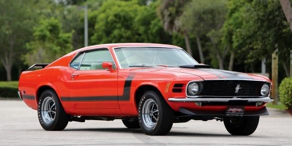 Red 1970 Boss 302